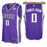 Camisetas Sacramento Kings Willie Cauley Stein Púrpura 2017-2018