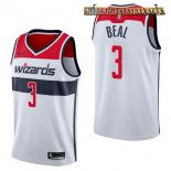 Camisetas Washington Wizards Bradley Beal Blanco Association 2017-2018
