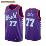 Camisetas 2020 All Star Luka Doncic Purpura