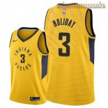 Camisetas Indiana Pacers Aaron Holiday Amarillo Statement 2018