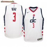 Camisetas Niños Washington Wizards Bradley Beal Nike Blanco Ciudad 2019-20