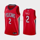 Camisetas Niños New Orleans Pelicans Lonzo Ball Rojo Statement 2019-2020
