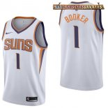 Camisetas Phoenix Suns Devin Booker Blanco Association 2017-2018