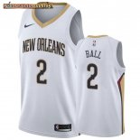 Camisetas New Orleans Pelicans Lonzo Ball Blanco Association 2019-20