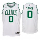 Camisetas Niños Boston Celtics Jayson Tatum Blanco Association 2018