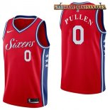 Camisetas Philadelphia Sixers Jacob Pullen Rojo Statement 2017-2018