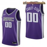 Camisetas Sacramento Kings Willie Cauley Stein Púrpura Icon 2017-2018