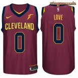 Camisetas Cleveland Cavaliers Kevin Love Rojo 2017-2018